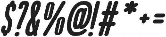 Bico Bold Italic otf (700) Font OTHER CHARS