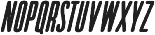 Bico Bold Italic otf (700) Font UPPERCASE