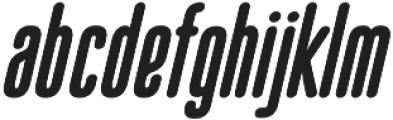 Bico Bold Italic otf (700) Font LOWERCASE