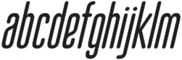 Bico Italic otf (400) Font LOWERCASE