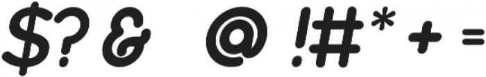 Biefeld Bold Regular otf (700) Font OTHER CHARS