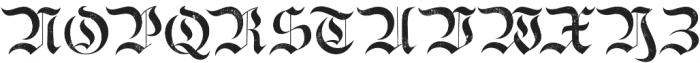 Bielefeld Textured otf (400) Font UPPERCASE