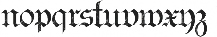 Bielefeld Textured otf (400) Font LOWERCASE