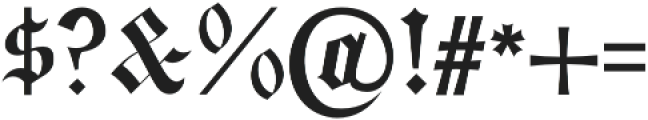 Bielefeld otf (400) Font OTHER CHARS