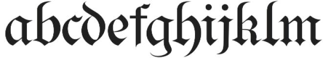 Bielefeld otf (400) Font LOWERCASE