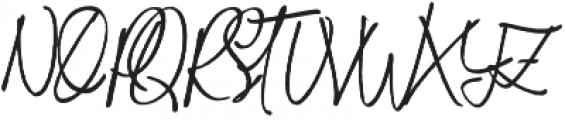 Biely otf (400) Font UPPERCASE