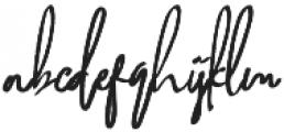 Biely otf (400) Font LOWERCASE