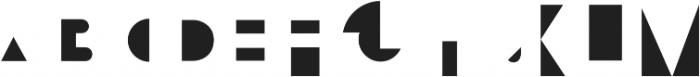 Bifur Overlay Regular otf (400) Font UPPERCASE