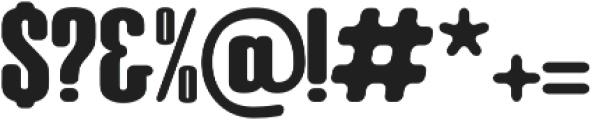 Big Armi ttf (400) Font OTHER CHARS
