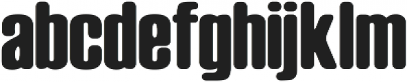 Big Armi ttf (400) Font LOWERCASE