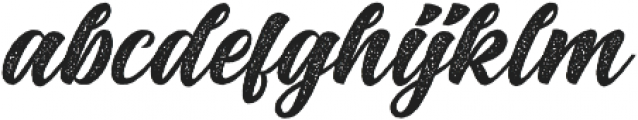 Big Blue Rough Rough otf (400) Font LOWERCASE