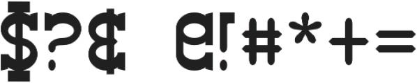 Big Burro Italic otf (400) Font OTHER CHARS