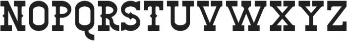 Big Burro Italic otf (400) Font UPPERCASE