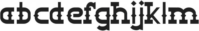 Big Burro Italic otf (400) Font LOWERCASE