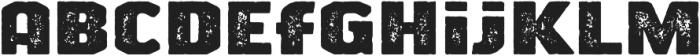 Big News Two otf (400) Font LOWERCASE