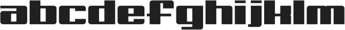 Big Old Boldy otf (700) Font LOWERCASE