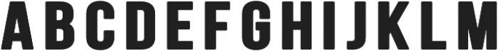 Big Show Regular otf (400) Font UPPERCASE
