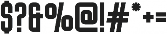 Big Stem Bold ttf (700) Font OTHER CHARS