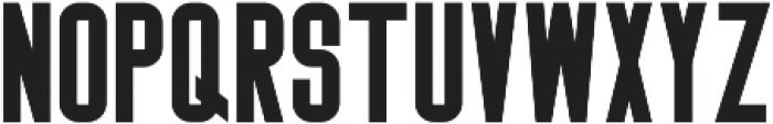 Big Stem Bold ttf (700) Font LOWERCASE
