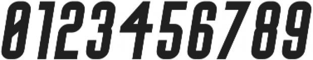 Big Stem BoldOblique ttf (700) Font OTHER CHARS