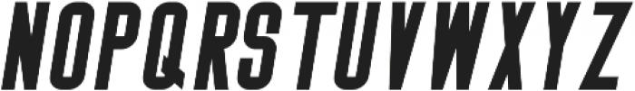 Big Stem BoldOblique ttf (700) Font LOWERCASE