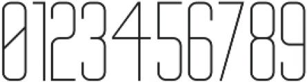 Big Stem Light ttf (300) Font OTHER CHARS
