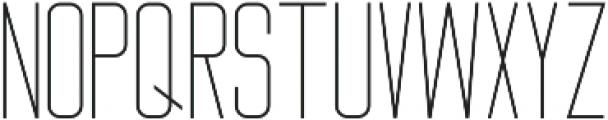 Big Stem Light ttf (300) Font UPPERCASE