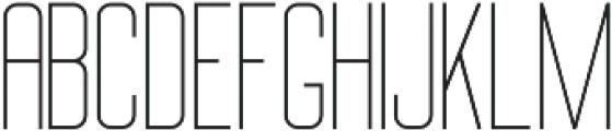 Big Stem Light ttf (300) Font LOWERCASE
