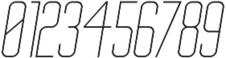 Big Stem LightOblique ttf (300) Font OTHER CHARS