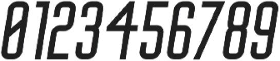Big Stem Oblique ttf (400) Font OTHER CHARS