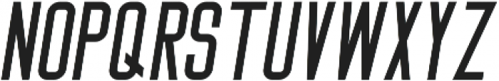 Big Stem Oblique ttf (400) Font LOWERCASE