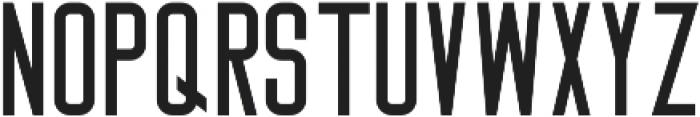 Big Stem ttf (400) Font LOWERCASE
