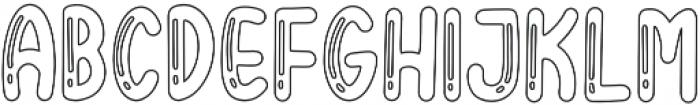BigBro Outline otf (400) Font UPPERCASE