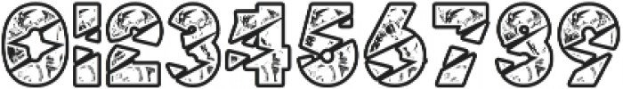 BigLightning otf (300) Font OTHER CHARS