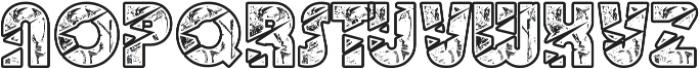 BigLightning otf (300) Font UPPERCASE