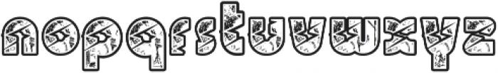 BigLightning otf (300) Font LOWERCASE
