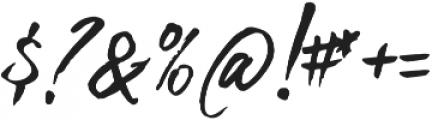 Bigbang Typeface otf (400) Font OTHER CHARS