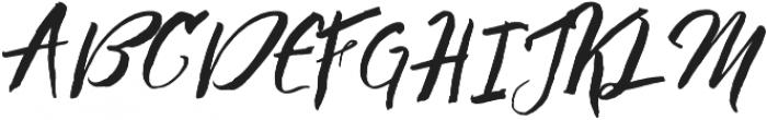 Bigbang Typeface otf (400) Font UPPERCASE