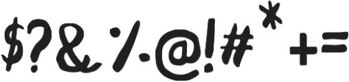 Bigfour ttf (400) Font OTHER CHARS