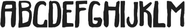 Bigfour ttf (400) Font UPPERCASE
