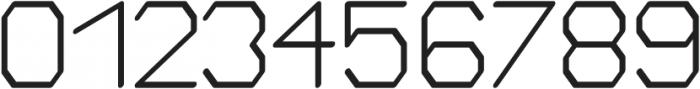Bigger regular otf (400) Font OTHER CHARS