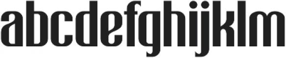 Biggie Bang otf (400) Font LOWERCASE