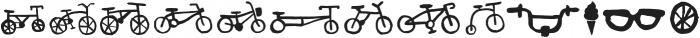 Bike Park Bike otf (400) Font LOWERCASE