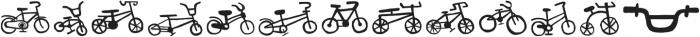 Bike Park Two Bike otf (400) Font UPPERCASE
