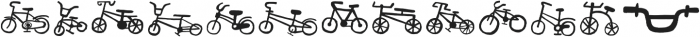 Bike Park Two Bike otf (400) Font LOWERCASE