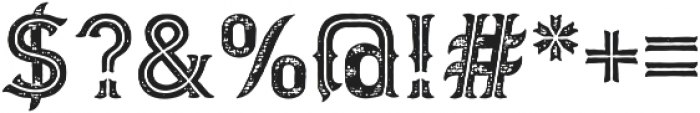 Biker New Rough Simple otf (400) Font OTHER CHARS