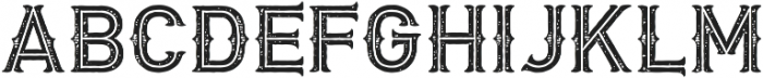 Biker New Rough Simple otf (400) Font UPPERCASE