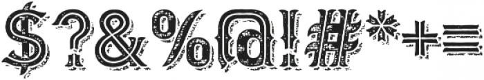 Biker New Rough otf (400) Font OTHER CHARS