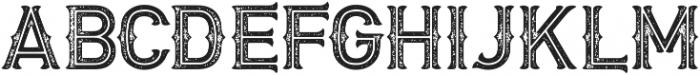 Biker Two otf (400) Font UPPERCASE