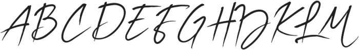 Billabong Beach Script otf (400) Font UPPERCASE